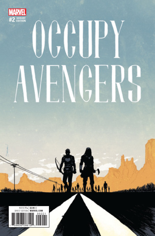 Occupy Avengers #2 (Shalvey Cover)