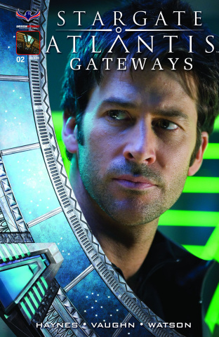 Stargate Atlantis: Gateways #2 (Sheppard Photo Cover)