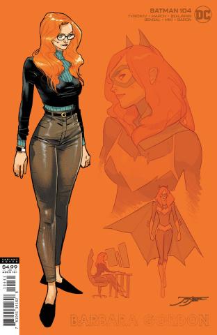 Batman #104 (1:25 Jorge Jimenez Barbara Gordon Card Stock Cover)