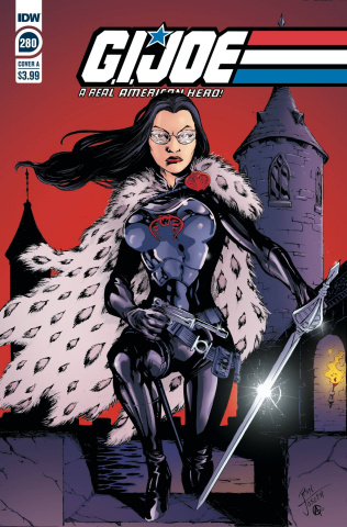 G.I. Joe: A Real American Hero #280 (Ron Joseph Cover)