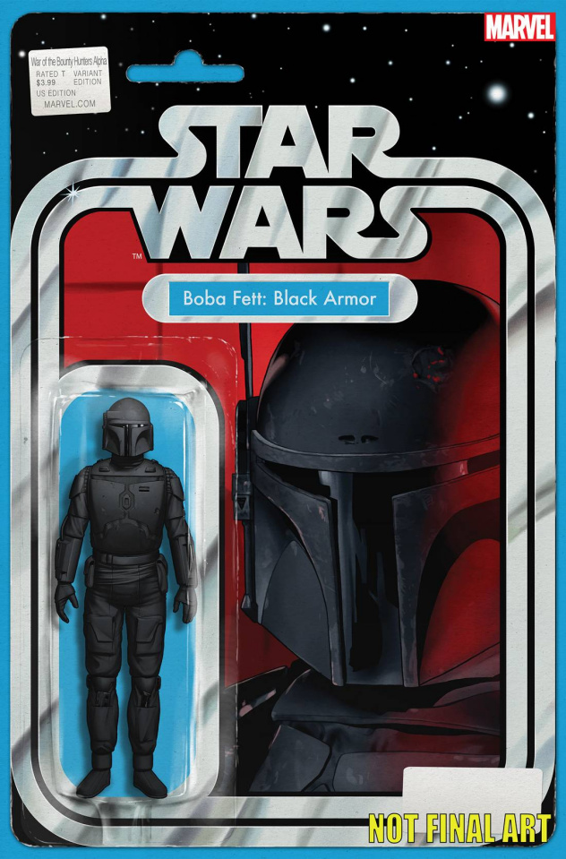 Star Wars: War of the Bounty Hunters - Alpha #1 (Action Figure Cover)