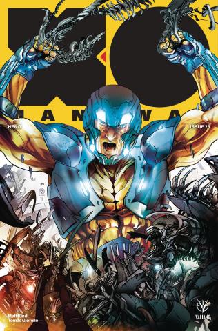 X-O Manowar #25 (Colapietro Cover)