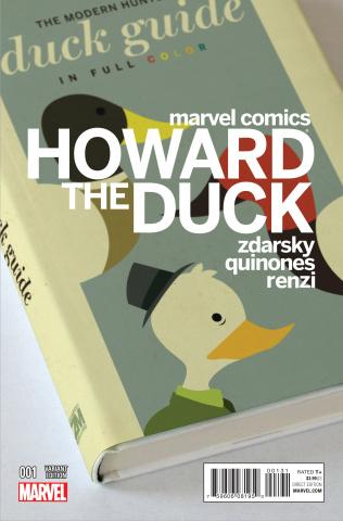 Howard the Duck #1 (Zdarsky Cover)
