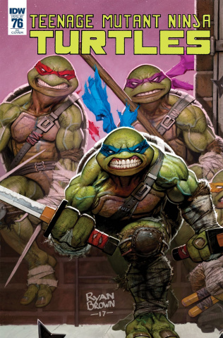 Teenage Mutant Ninja Turtles #76 (10 Copy Cover)