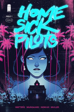Home Sick Pilots #1 (50 Copy Turquoise Foil Cover)
