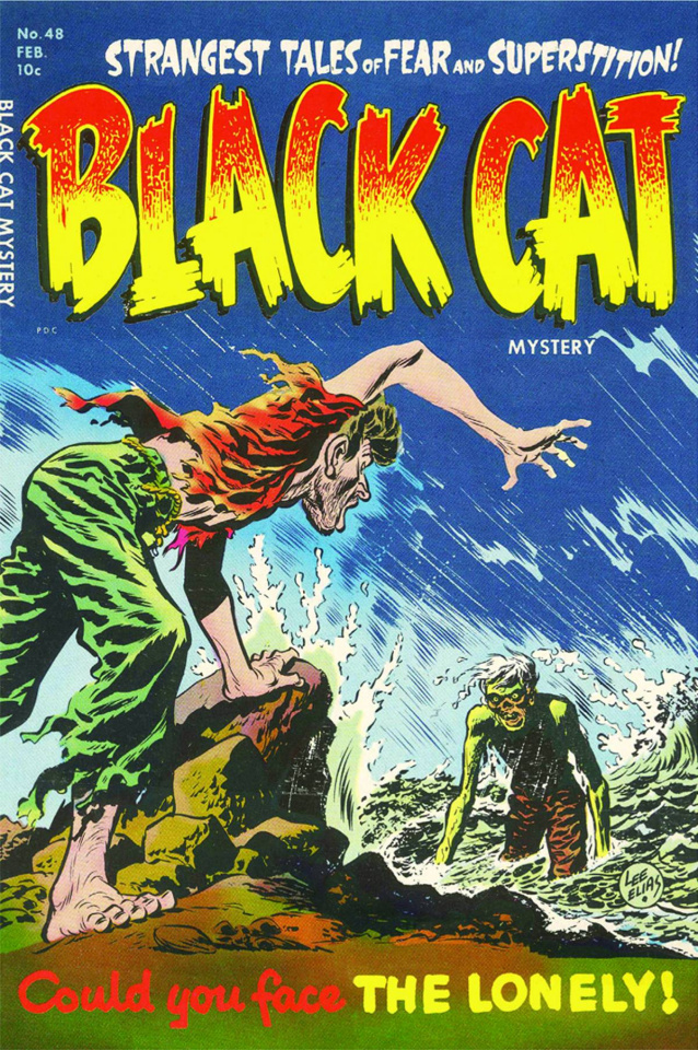 Harvey Horrors Collected Works: Black Cat Mystery Vol. 4