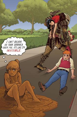 Archie vs. Predator #4 (Quinones Cover)