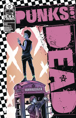 Punk's Not Dead #2 (Wijngaard Cover)