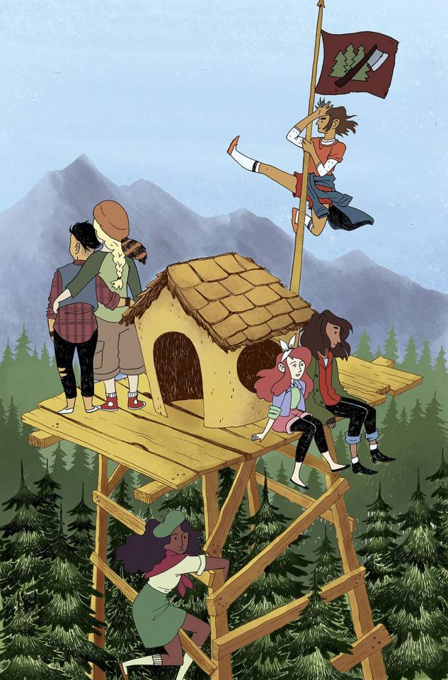 Lumberjanes #24 (20 Copy Short Cover)