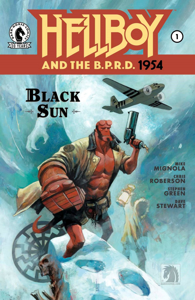 Hellboy and The B.P.R.D.: 1954 #1 (Black Sun)