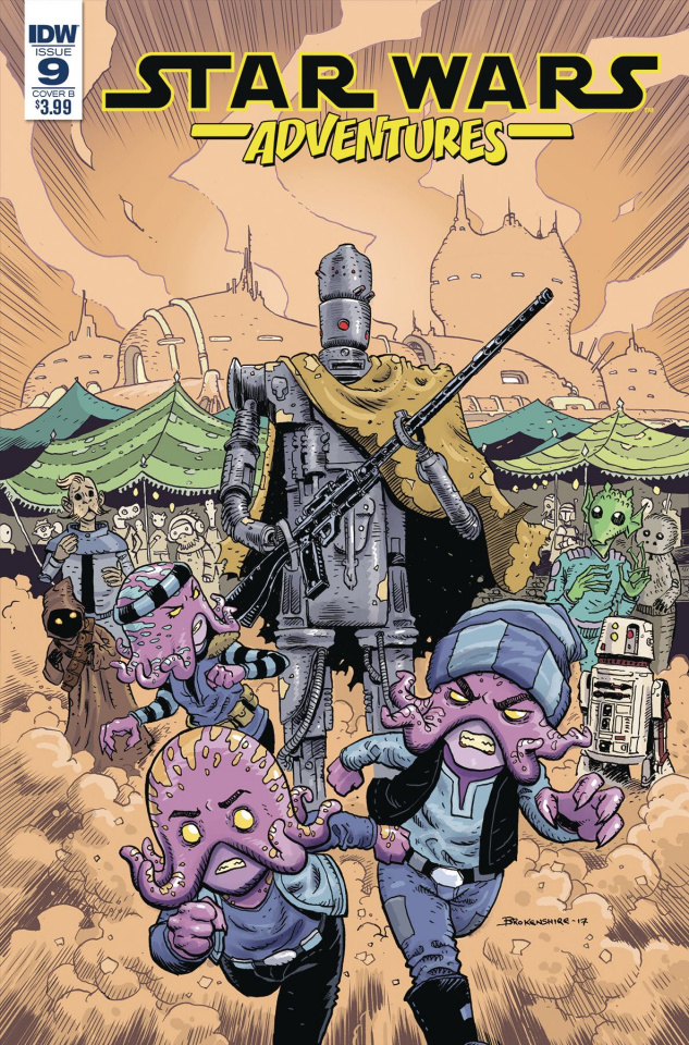 Star Wars Adventures #9 (Brokenshire Cover)