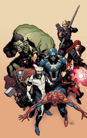 Avengers: Millennium #1