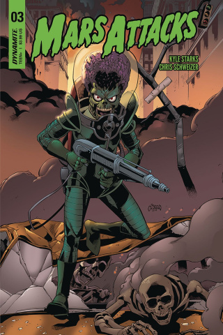 Mars Attacks #3 (Coleman Cover)