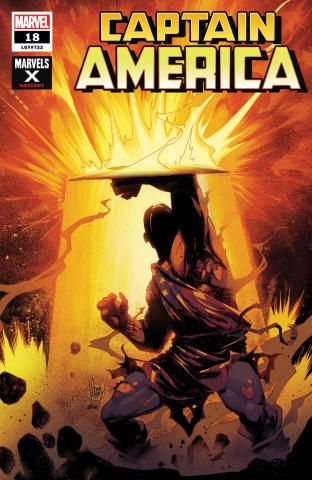 Captain America #18 (Kubert Marvels X Cover)