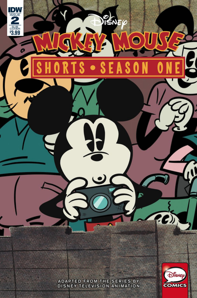 Mickey Mouse Shorts, Season One #2 (Subscription Cover)