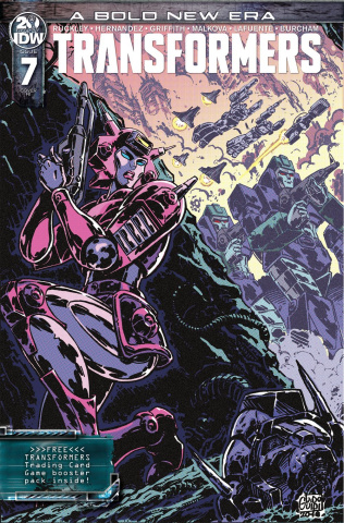 The Transformers #7 (10 Copy Guidi Cover)