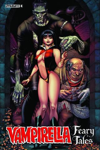 Vampirella: Feary Tales #4 (Adams Cover)
