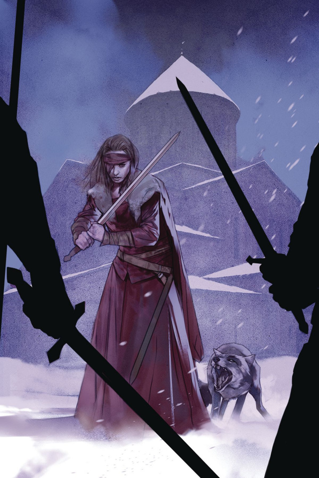 Sword Daughter #9 (Oliver Cover)