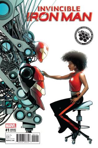 Invincible Iron Man #1 (McKone Steam Cover)