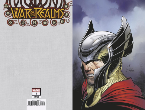 The War of the Realms #1 (Quesada Virgin Cover)