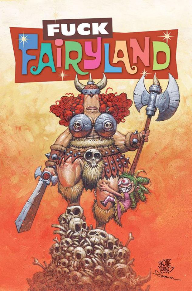 I Hate Fairyland #11 (F*Ck (Uncensored) Fairyland Cover)