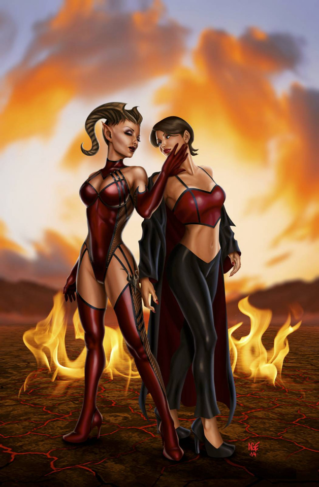 Grimm Fairy Tales: Inferno - The Rings of Hell #2 (Valez Cover)