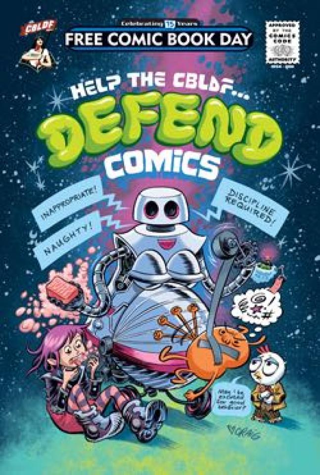 Help the CBLDF... Defend Comics (FCBD 2016 Edition)