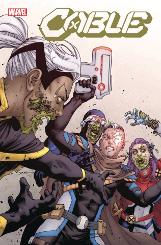 Cable #2 (Yardin Marvel Zombies Cover)