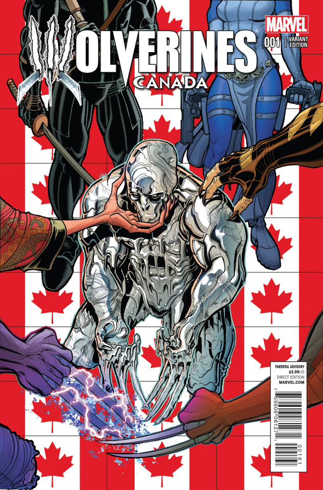 Wolverines #1 (Canada Cover)