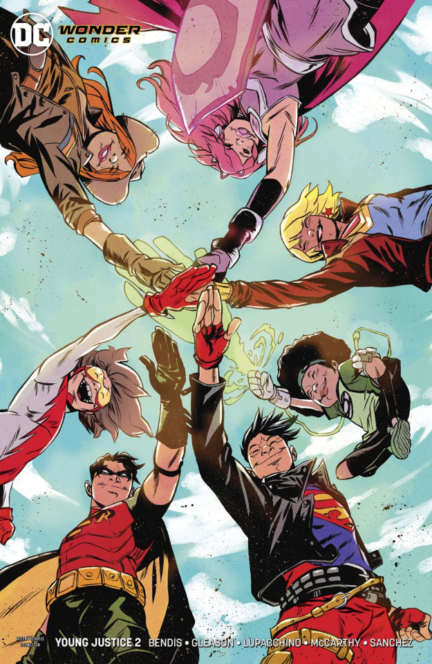 Young Justice #2 (Variant Cover)