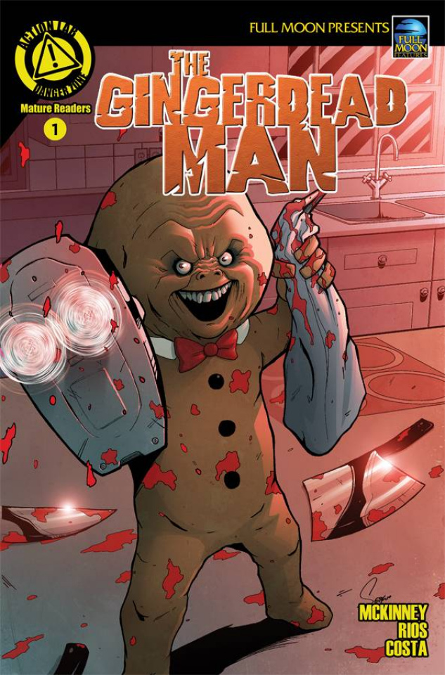 The Gingerdead Man #1 (Rios & Costa Cover)
