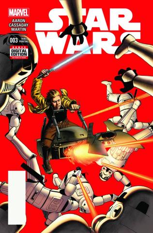 Star Wars #3 (Cassaday 3rd Printing)
