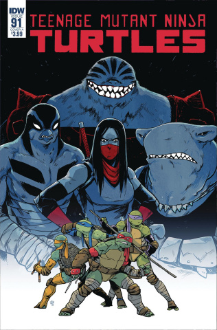 Teenage Mutant Ninja Turtles #91 (Dialynas Cover)