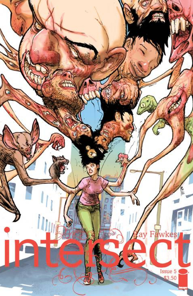 Intersect #5 (Rossmo Cover)