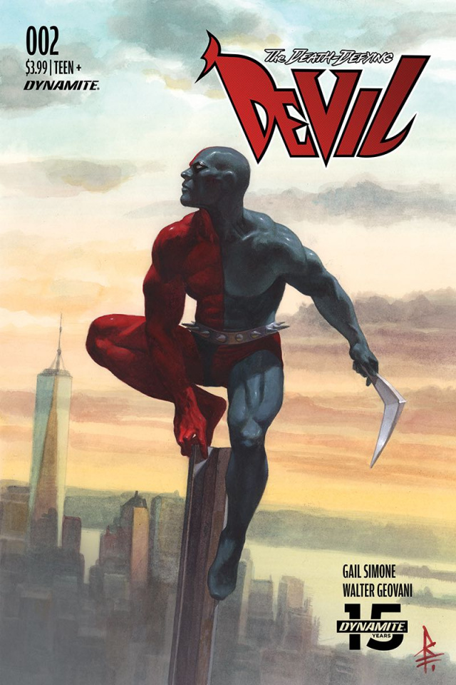 The Death-Defying Devil #4 (Federici Cover)