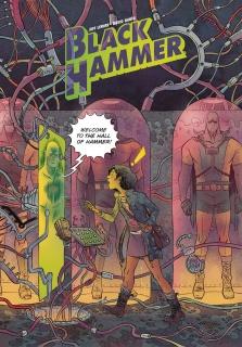 Black Hammer #12 (Rubin Cover)