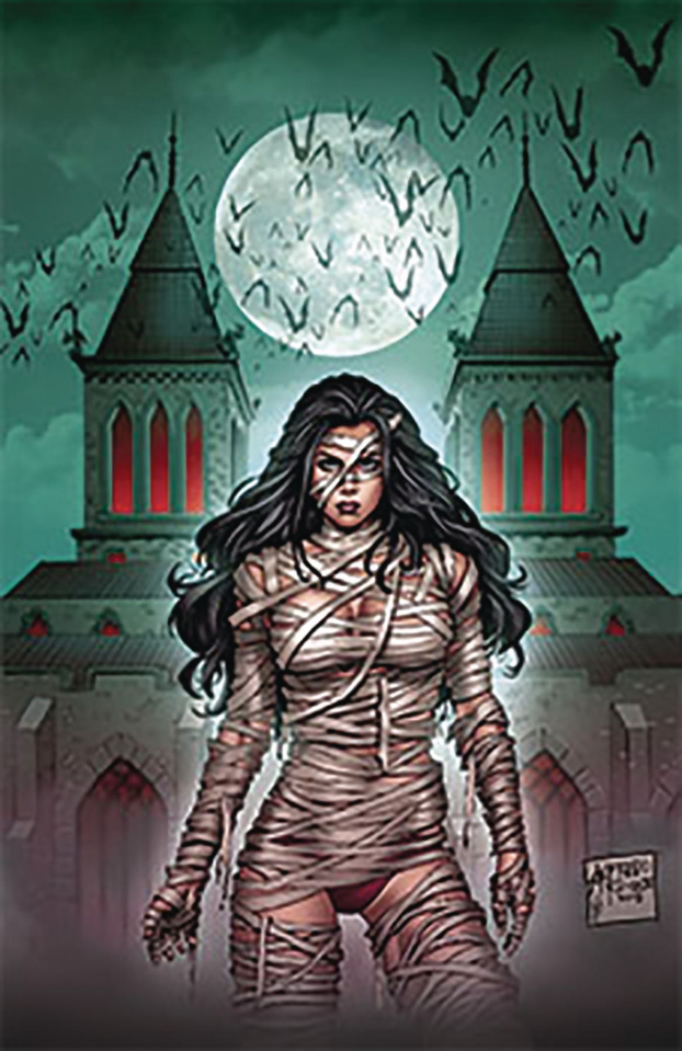Grimm Fairy Tales 2019 Horror Pinup (Reyes Cover)