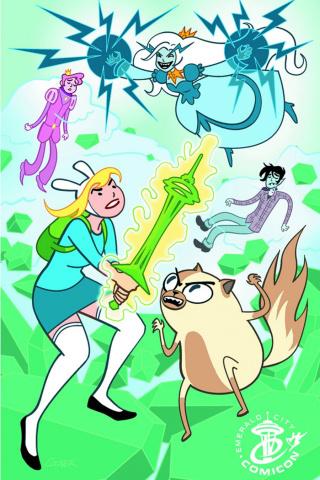 Adventure Time with Fionna & Cake #1 (Emerald City Comic Con Cover)