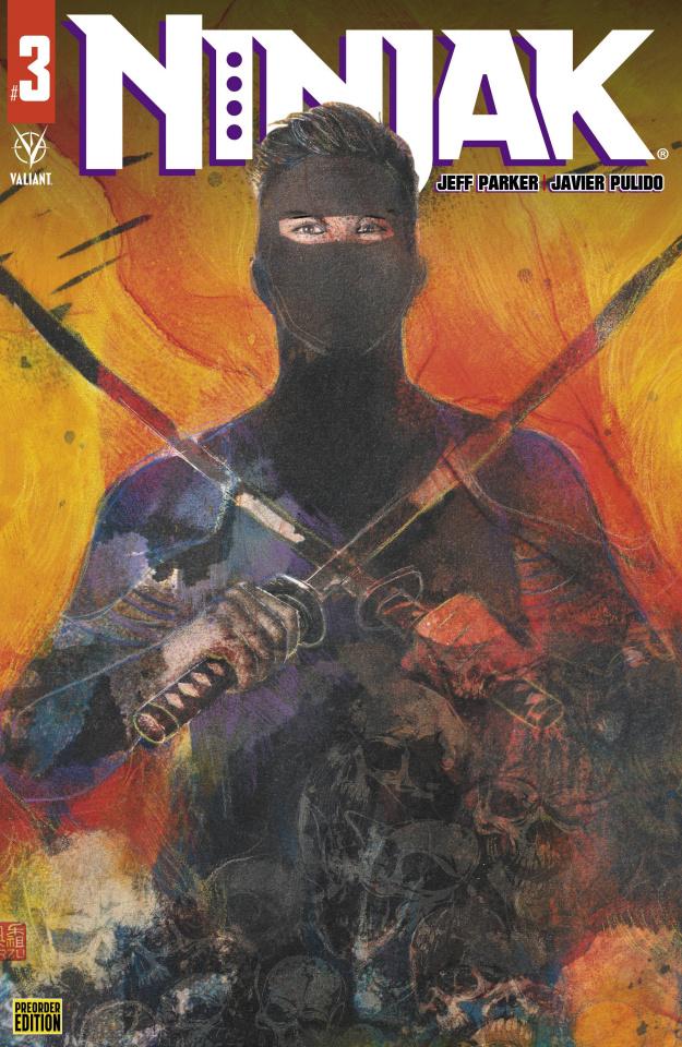 Ninjak #3 (Preorder Orzu Cover)