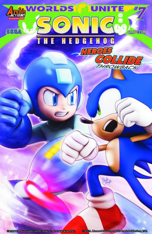 Sonic the Hedgehog #274 (Slugfest Cover)