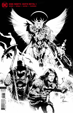 Dark Nights: Death Metal #1 (Midnight Party Variant Cover)