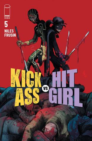 Kick-Ass vs. Hit-Girl #5 (Romita Jr. Cover)