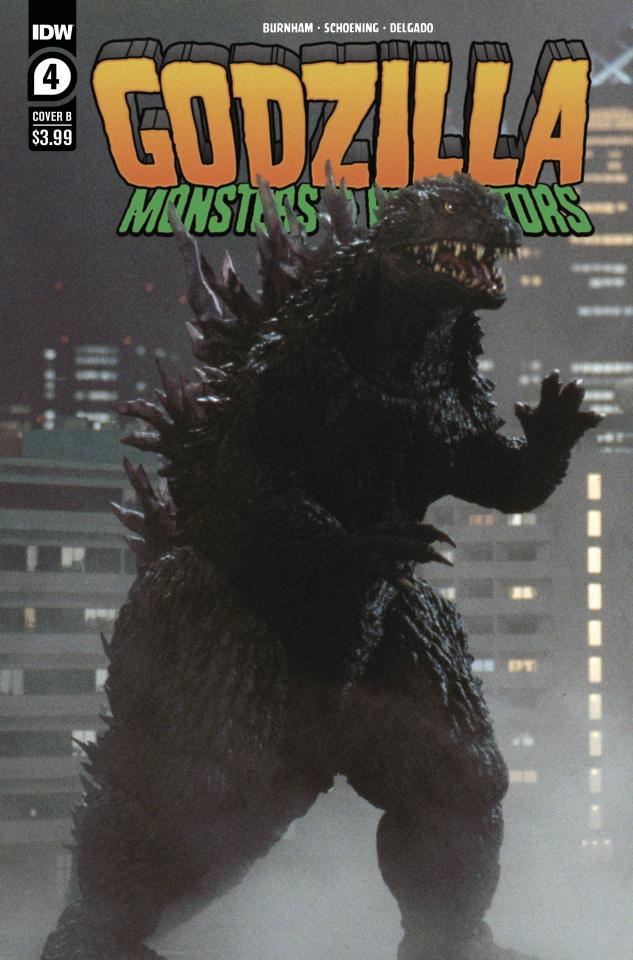 Godzilla: Monsters & Protectors #4 (Photo Cover)