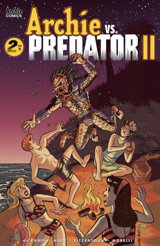Archie vs. Predator II #2 (Galvan Cover)