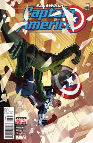 Captain America: Sam Wilson #4 (Renaud 2nd Printing)
