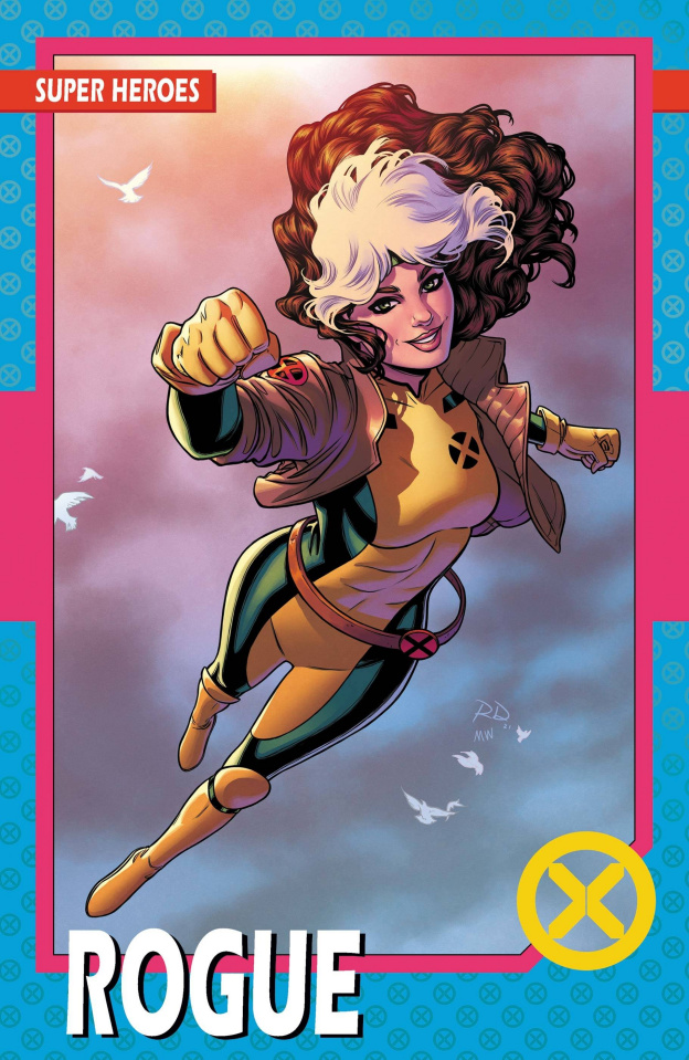X-Men #2 (New Line-Up Trading Card Cover)