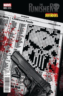 The Punisher #5 (Aja Defenders Cover)
