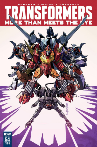 The Transformers: More Than Meets the Eye #54