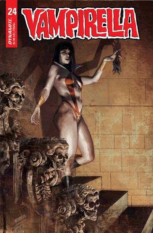 Vampirella #24 (Mastrazzo Cover)