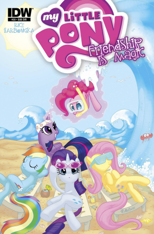 My Little Pony: Friendship Is Magic #30 (Subscription Cover)
